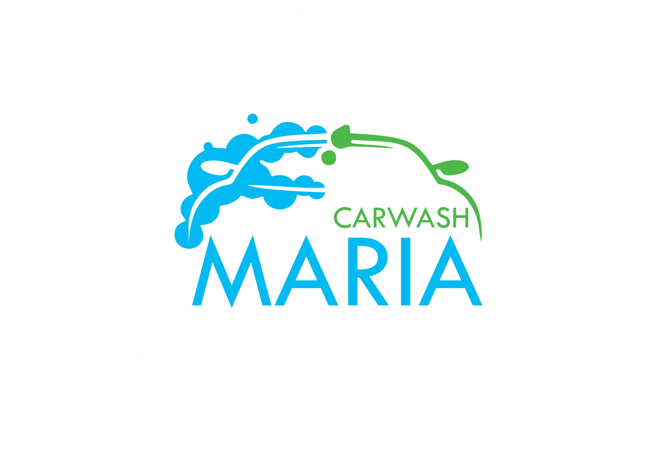 Лого дизайн и Facebook страница за Автомивка Мария